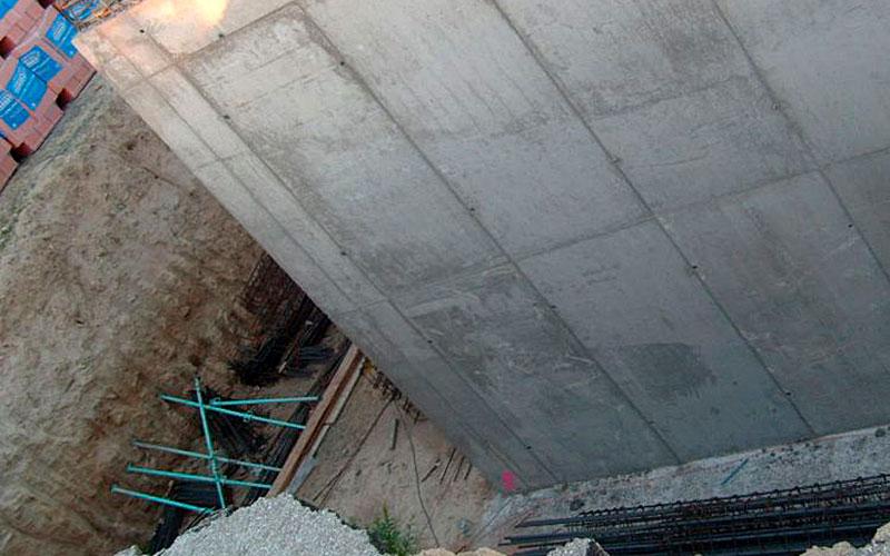 Aislamiento de muros enterrados y sótanos en Madrid.