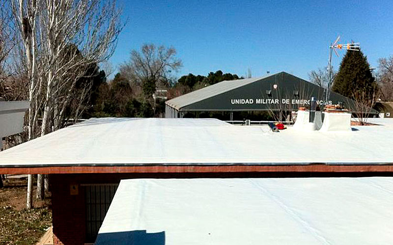 Impermeabiliaziones tejados Madrid Deckland Cubiertas