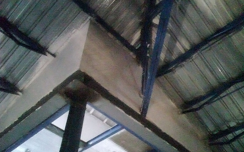 Reparación de cubiertas de chapa